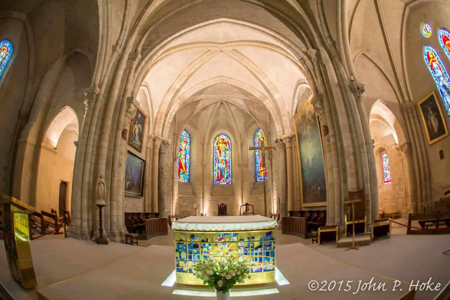 Altar through Fisheye - John P. Hoke
