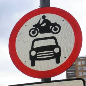 Beware of Happy Motorcycle Riders!