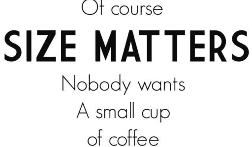 ShortPixel: Of course size matters - nobody wants a small cup of coffee (or large images)