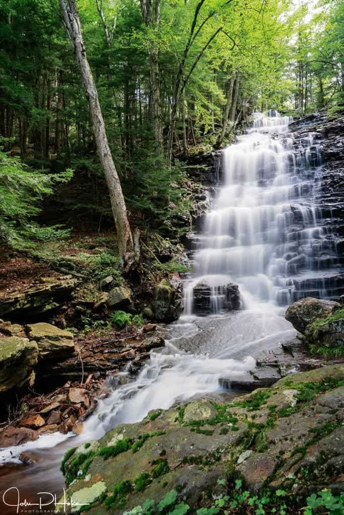 Bear Creek Falls Pennsylvania – Photography & Lesson Learned