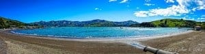 Akaroa Beach Panorama