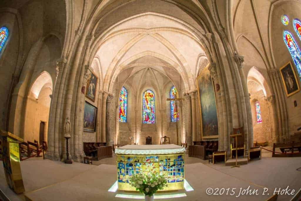 Altar_through_Fisheye-John_P._Hoke