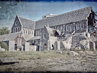 Christchurch Cathedral Distressed