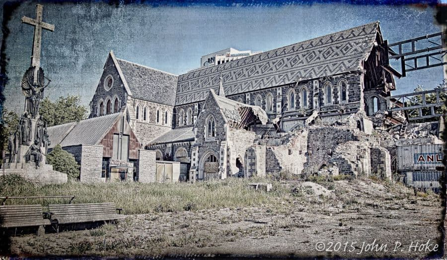 Christchurch_Cathedral_Distressed_-John_P._Hoke