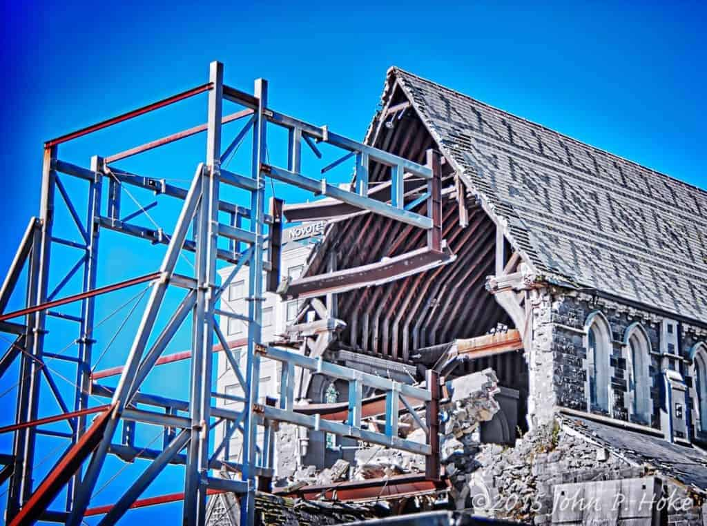 Christchurch Cathedral Distressed II