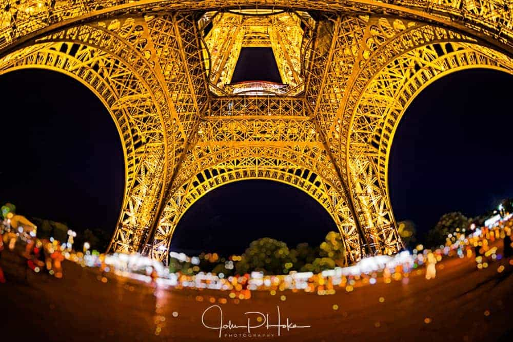 Eifel Tower Fisheye