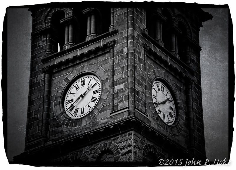 For Whom the Bell Tolls -- Jim Thorpe Courthouse Clocktower