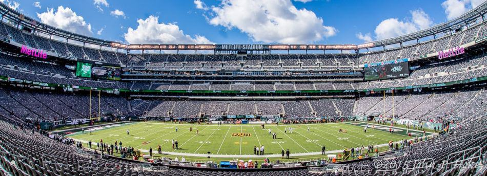 MetLife Stadium Fisheye