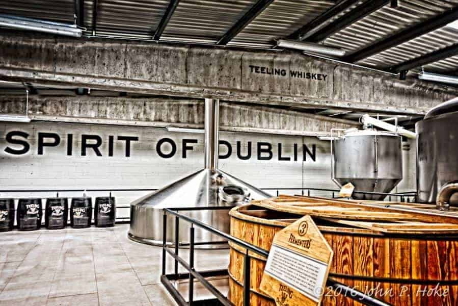 Inside the Teeling Distillery, Dublin Ireland