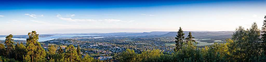 Panoramic View from Holmenkollen