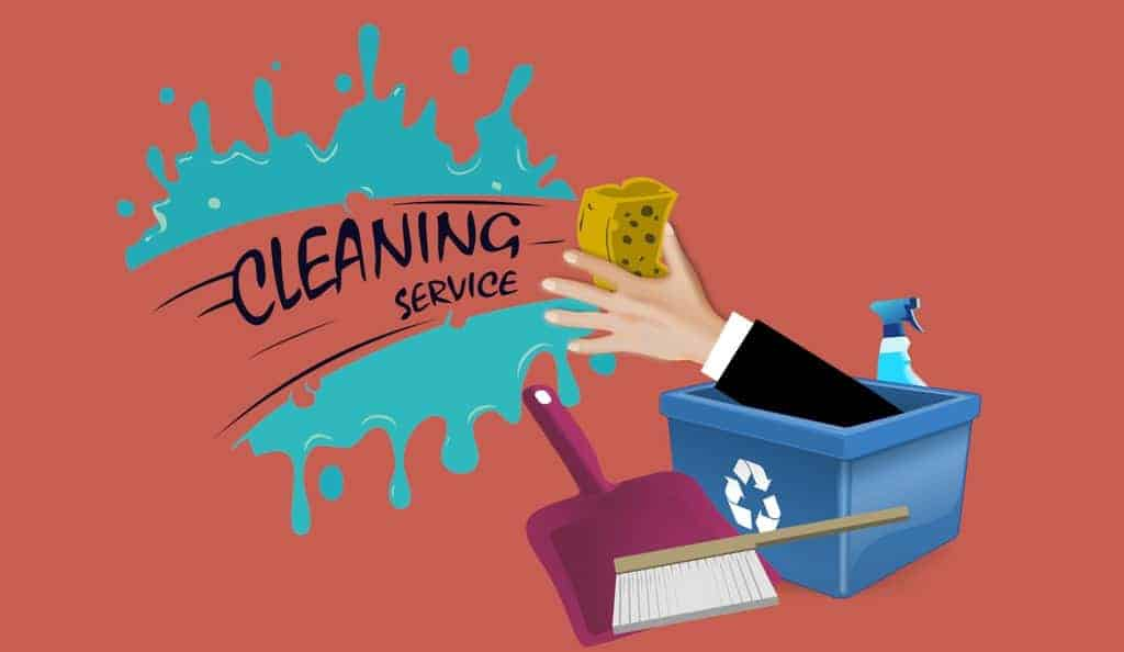Cleaning Service (Illustration)