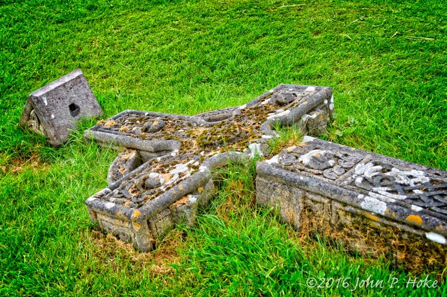Fallen Celtic Cross - Rock of Cashel - fallen_cross-20160611-john-p-hoke